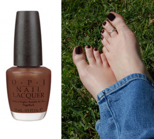 Spring Pedicure Foot Love OPI Espresso Your Style