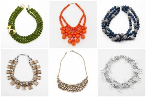 Spring Jewelry Necklaces Oliphant Statement