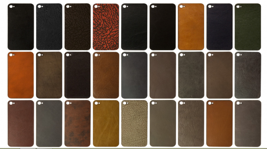 iPhone cases leather bumper