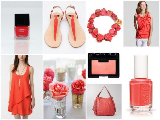 Coral spring summer 2011