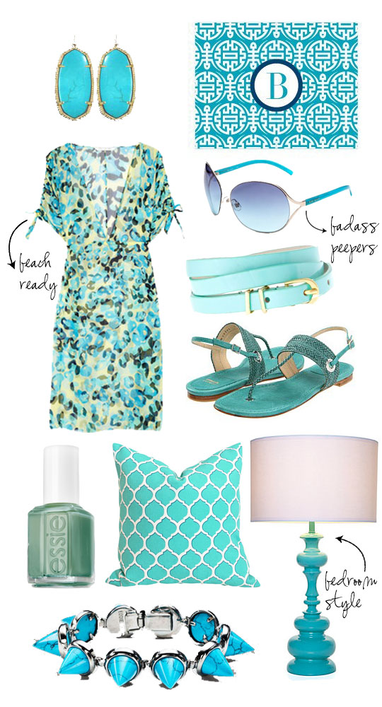 turquoise spring 2012