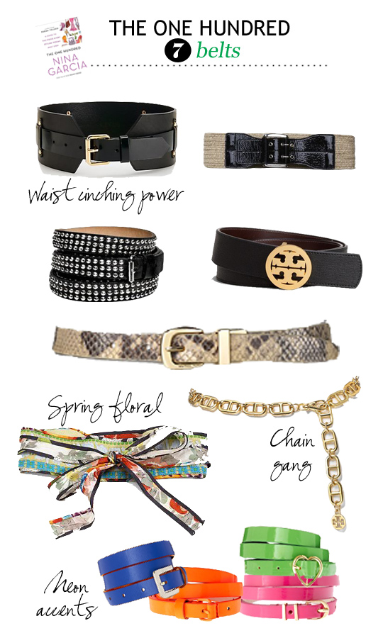 tory burch studded belt raffia belt spring belt neon belt chain belt how to wear belts