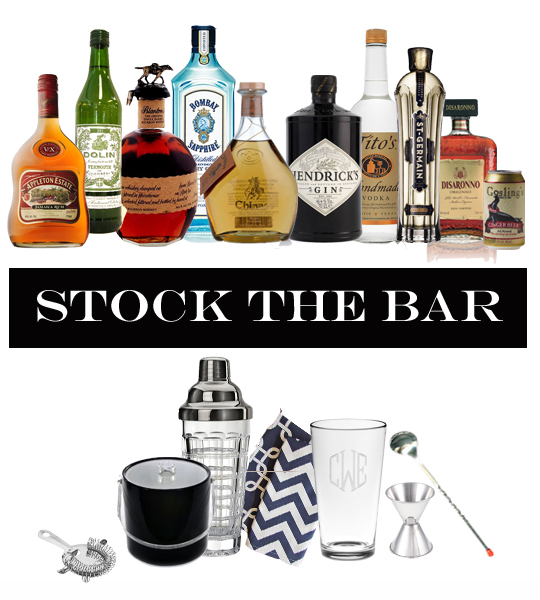 planning a cocktail party, what liquors to have for a cocktail party, what liquors to have for a bar