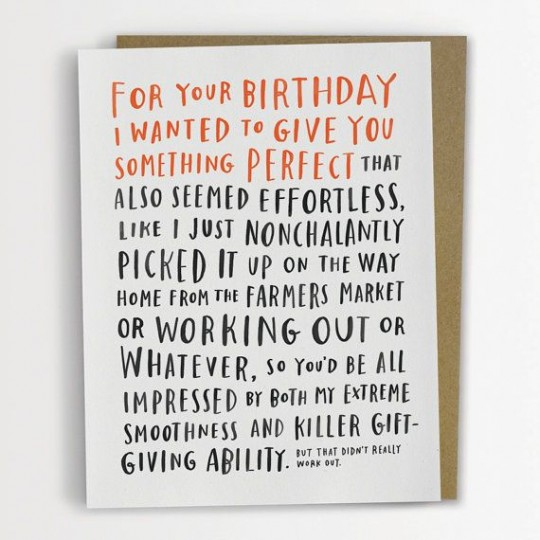 Emily McDowell Birthday card