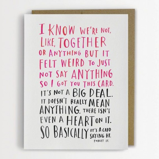 Emily McDowell awkward dating card