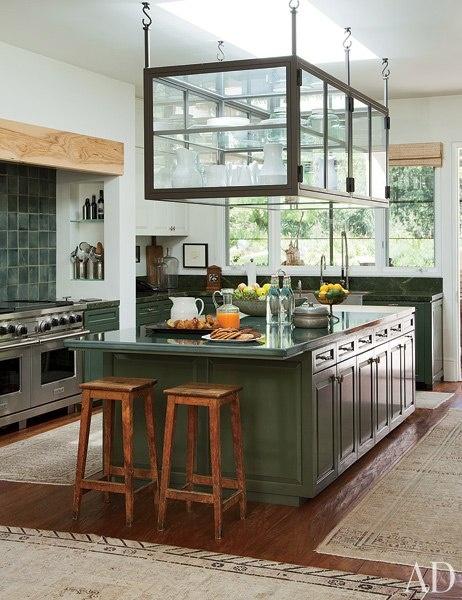 Ellen Degeneres Kitchen - Architectural Digest