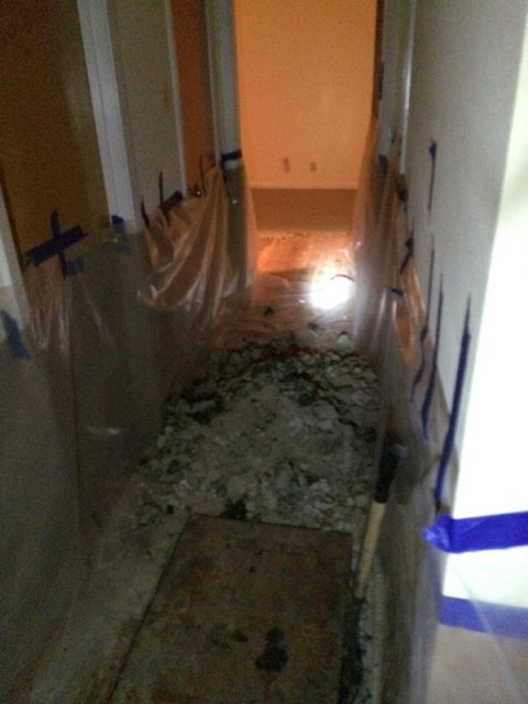 hallway foundation repair
