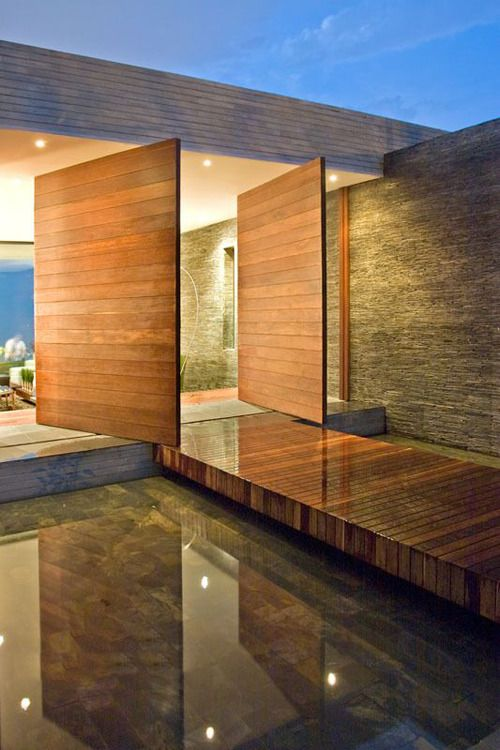 pivot doors fascinate me