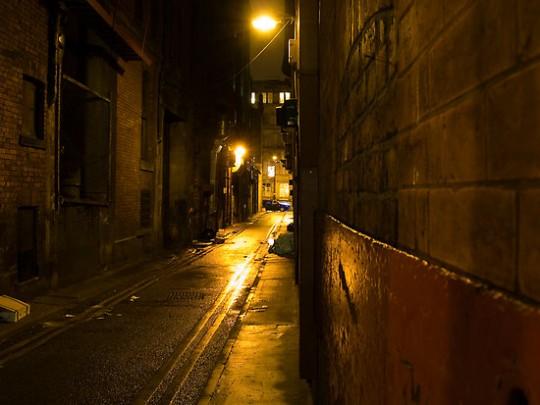 Gloomy Dark Alleyway - Rob Davies