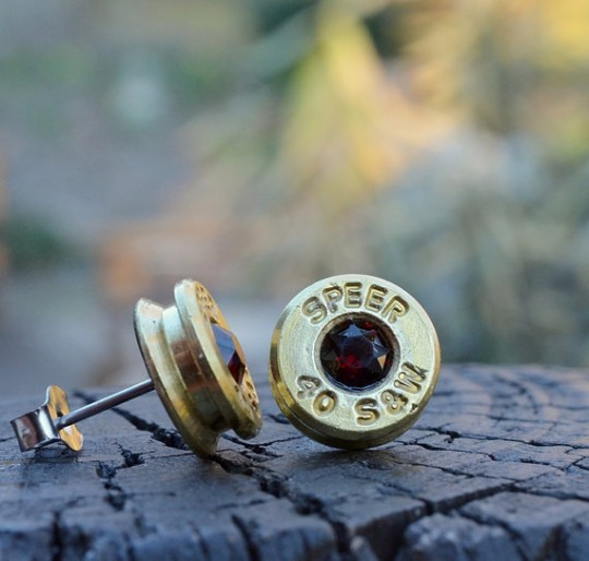speer bullet earrings